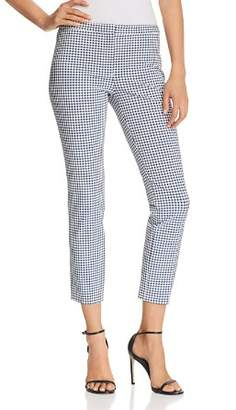 Theory Printed Classic Skinny Pants