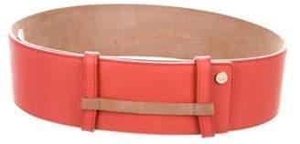 Jimmy Choo Leather Waist Belt