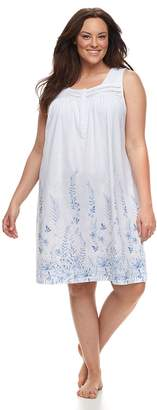 Croft & Barrow Plus Size Printed Nightgown