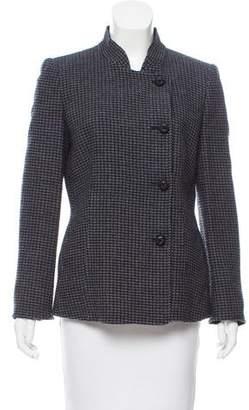 Armani Collezioni Knit Wool Blazer