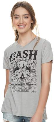 "Juniors' Johnny Cash ""The Man in Black"" Tee"