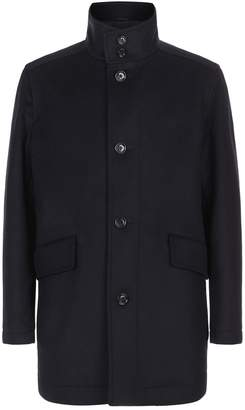 HUGO BOSS Wool And Cashmere Coat
