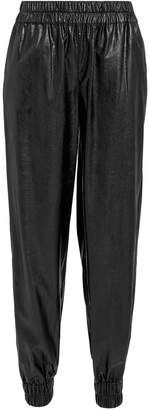 Philosophy di Lorenzo Serafini Faux Leather Jogging Pants