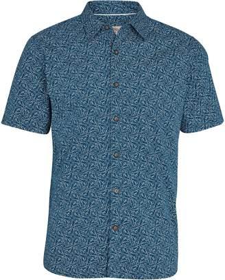Next Mens FatFace Navy Shark Print Shirt