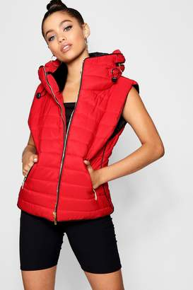 boohoo Quilted Gilet