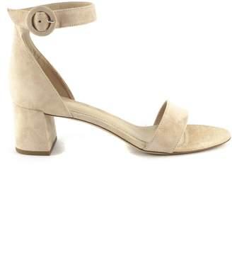 5748d89c230 Aldo Castagna Nude Suede High-heel Ginevra Sandals
