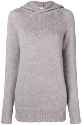 Ma Ry Ya Ma'ry'ya hooded fine knit sweater