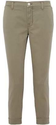 J Brand Josie Cotton-Blend Twill Tapered Pants