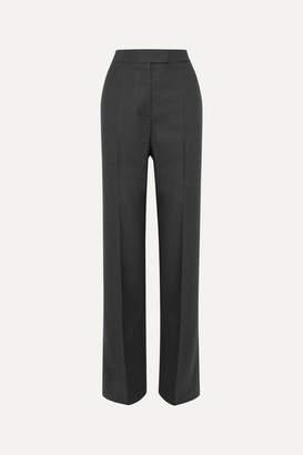 Stella McCartney Wool Straight-leg Pants - Gray