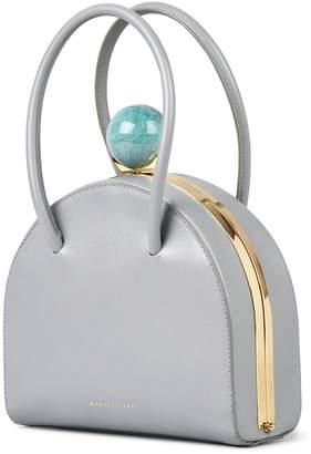M2Malletier Francoise Saffiano Top Handle Bag