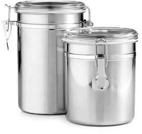 Martha Stewart Two-Piece Food Storage Canisters Set