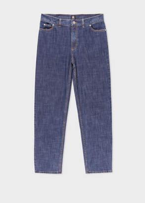 Paul Smith Women's Girlfriend-Fit Mid-Wash Jeans