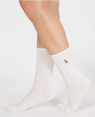 Polo Ralph Lauren Women's Classic Flat Knit Socks