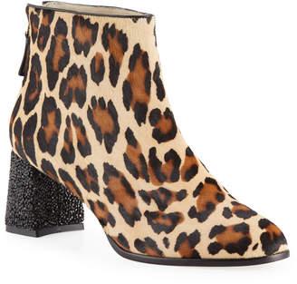 169eacc11eaa Sophia Webster Stella Leopard-Print Ankle Boots