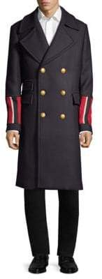 Tommy Hilfiger Edition Military Captain's Double-Breasted Coat