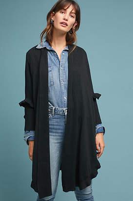 Muche et Muchette Ruffled Longline Kimono