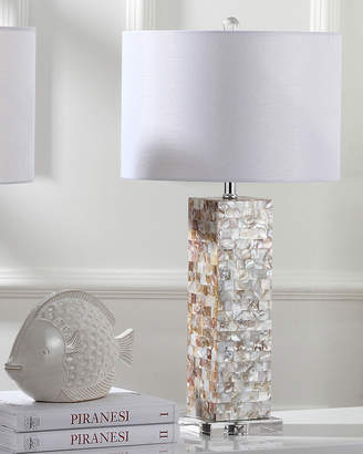 Safavieh Jacoby Capiz Shell Table Lamps, Set of 2