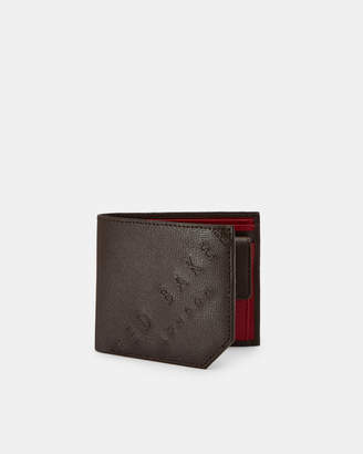 234114e81 Ted Baker WUNCOIN Embossed leather coin holder