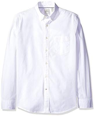 Dockers Poplin Long Sleeve Button-Front Shirt
