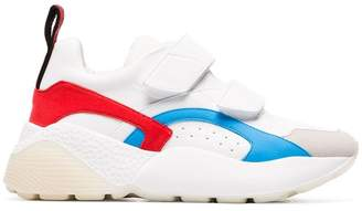 Stella McCartney white Eclypse 45 chunky Velcro sneakers