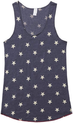Alternative Apparel Printed Racer Tank - X-Small
