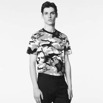 Sandro Camouflage print T-shirt