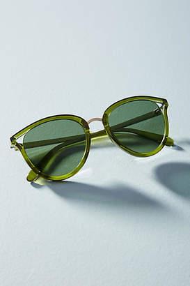 Anthropologie Rounded Cat-Eye Sunglasses
