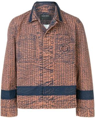Craig Green contrast panel shirt jacket
