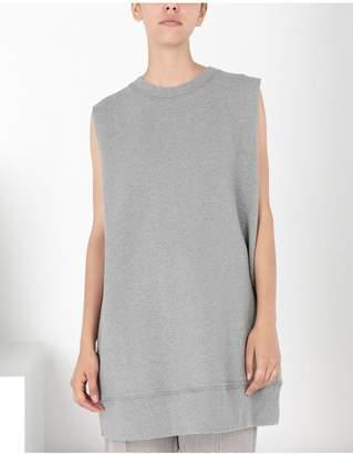 Maison Margiela Sleeveless Jersey Sweatshirt
