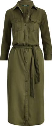Ralph Lauren Twill Utility Shirtdress