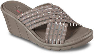 Skechers Cali Promenade Star Light Wedge Sandal - Women's