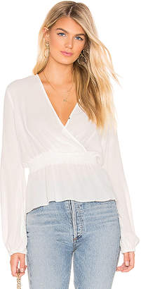 Bardot Shirred Blouse