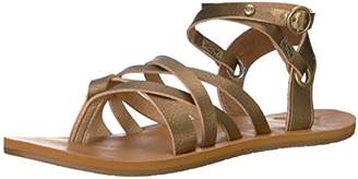 Roxy Women's Bailey Multi Strap Sandal Flat