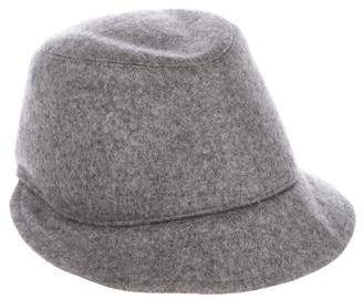 Brunello Cucinelli Wool Cloche Hat