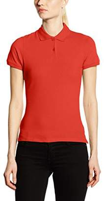Fruit of the Loom Women's Lady-Fit Polo Shirt, (Manufacturer Size:)