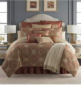 Waterford Jonet Reversible Comforter, Sham & Bedskirt Set
