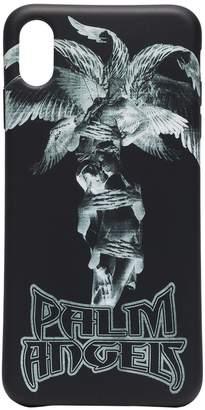 Palm Angels statue print iPhone XS case