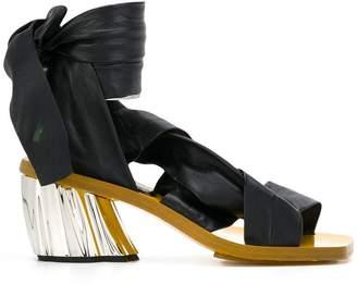 Proenza Schouler wrap around sandals