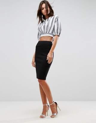 9b05a9bd58cd95 Asos Design DESIGN high waisted pencil skirt