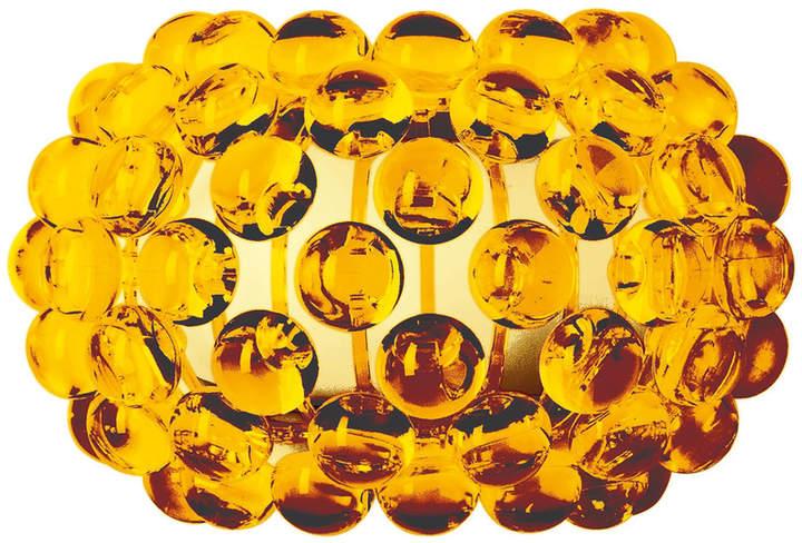 Caboche Wandleuchte piccola, giallo oro