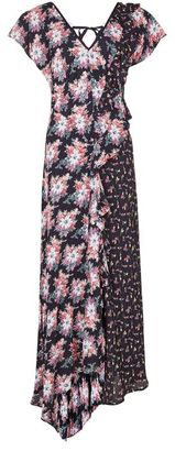 Topshop Splice d-ring maxi dress