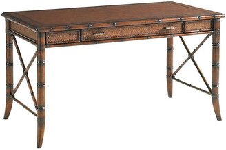 One Kings Lane Marianna Rattan Writing Desk - Amber