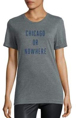 Knowlita Chicago Or Nowhere Cotton Graphic Tee