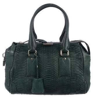 eac74decf67f Burberry Python Bag - ShopStyle