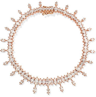 Anita Ko Atlas 18-karat Rose Gold Diamond Bracelet
