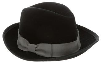 Hat Attack Wool Fedora Hat $75 thestylecure.com