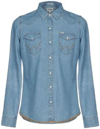 Wrangler Denim shirts - Item 42693021GK