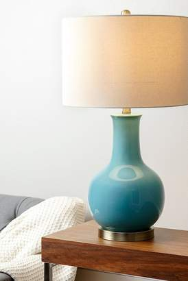 Abbyson Living Gail French Blue Ceramic Table Lamp