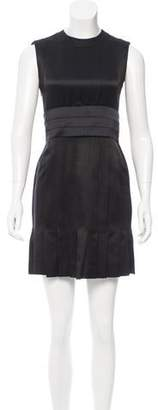 Chanel Belted Silk Dress