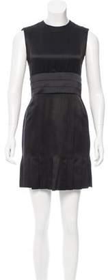 Chanel Belted Silk Dress